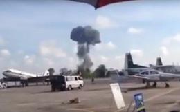 Tiêm kích JAS 39 của Thái Lan rơi khi biểu diễn, phi công thiệt mạng