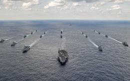 """RT: Tàu chiến Nhật nhập cuộc nhóm tàu Mỹ áp sát Triều Tiên trước """"đại lễ"""" của Bình Nhưỡng"""