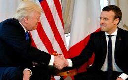Truyền thông quốc tế xôn xao vì màn bắt tay như đấu võ giữa Trump và Macron