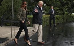 24h qua ảnh: Đi giày cao gót đến vùng lũ, đệ nhất phu nhân Melania Trump gây bão dư luận