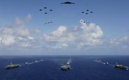 Mỹ đưa 3 tàu sân bay tới Thái Bình Dương trước ngày ông Trump sang châu Á