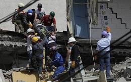 Lại động đất mạnh ở Mexico: Số người chết đã lên tới 139 người