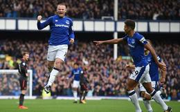 Tái hiện siêu phẩm sau 15 năm, Rooney vẫn không cứu được Everton khỏi thảm bại
