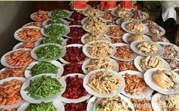 Những hình ảnh đặc trưng về một đám cưới ở vùng nông thôn Trung Quốc