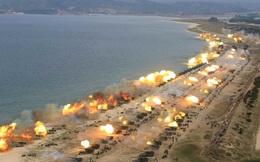 24h qua ảnh: Hơn 300 khẩu pháo Triều Tiên đồng loạt nã đạn về phía biển