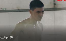"""""""Nhập ngũ"""", hot boy Bình An nổi cáu vì phải tắm nước lạnh"""