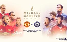 Box TV: Xem TRỰC TIẾP Trận đấu tri ân Carrick của Man United (20h30)