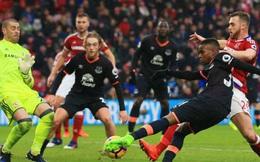 Clip bản quyền Premier League: Middlesbrough 0-0 Everton