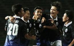 """Chật vật chiến thắng, Trung Quốc gián tiếp """"mở cửa"""" dự giải châu lục cho Campuchia"""