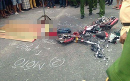Nữ sinh lớp 8 chết thảm dưới bánh xe tải trên đường đi học về