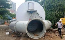 """""""Siêu bơm"""" không hết ngập không lấy tiền sắp thể hiện khả năng hút nước ở Sài Gòn"""