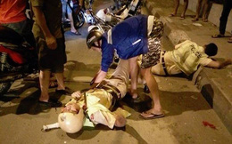 Cảnh sát giao thông bị xe đâm đã tử vong