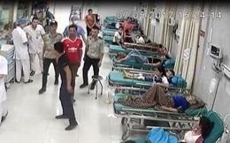 Trưởng công an huyện bác thông tin xe ở bệnh viện bị bắn thủng kính bằng súng tự chế