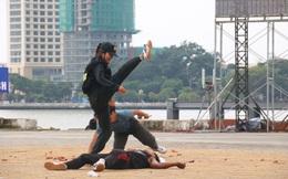 """Những nữ cảnh sát """"mình đồng da sắt"""" tham gia bảo vệ APEC"""