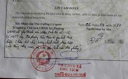 Phó Chủ tịch Thanh Hóa yêu cầu chấn chỉnh Chủ tịch xã phê bình cả nhà vào lý lịch công dân