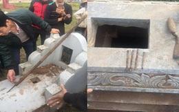 Hé lộ nguyên nhân hơn chục ngôi mộ bị chôn răng bừa, đinh 10, đổ chất uế tạp ở Hà Nội