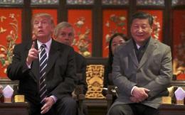 Vừa đến Bắc Kinh, ông Trump đã khoe quà của cháu gái với ông Tập