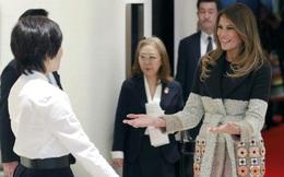 Thời trang ngoại giao của Đệ nhất phu nhân Mỹ Melania Trump tiếp tục gây sốt