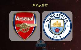 Box TV: Xem TRỰC TIẾP Arsenal vs Man City (21h00)