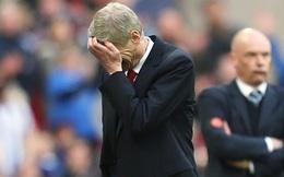 """""""Danh sách đen"""" vòng 22 Premier League: Wenger tiếp tục khóc ròng"""