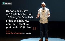 Những giọt nước mắt của Nguyễn Tử Quảng vì Bphone