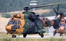 Rơi trực thăng quân sự Thổ Nhĩ Kỳ, 13 binh sỹ thiệt mạng