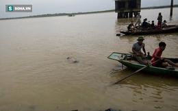 Tìm kiếm đôi nam nữ nhảy sông Lam tự tử lúc rạng sáng