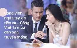 """Công Vinh xin tiền Thủy Tiên và chuyện """"gửi ví cho vợ"""" của soái ca Hoàng Anh Tú"""