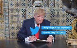 Nhà Trắng xác nhận: Trump không tự viết diễn văn nhậm chức