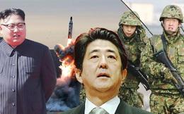 """Nhật có thể coi tên lửa Triều Tiên rơi xuống biển là """"mối đe dọa xâm lược quân sự rõ ràng"""""""