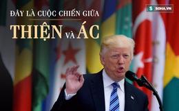 Toàn văn bài diễn thuyết lay động thế giới Hồi giáo của Trump tại Saudi Arabia
