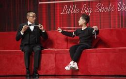 Lại Văn Sâm lúng túng khi bắt chước vũ công 12 tuổi đẹp trai, đa tài diễn ảo thuật