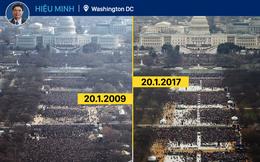 Từ Washington DC: Lễ nhậm chức vắng người, và vắng những nụ cười