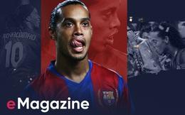 Ronaldinho: Giữa thế giới kim tiền, còn đó đôi chân tuyệt tác và nụ cười chưa bao giờ tắt