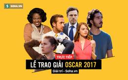 Trực tiếp: Lễ trao giải Oscar 2017 chấn động vì khách mời đọc nhầm kết quả