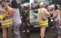 Công an thông tin chính thức vụ người phụ nữ xô đẩy, chửi bới CSGT ở Sài Gòn