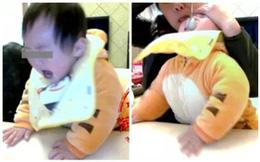 Không chịu ăn, bé 1 tuổi bị bảo mẫu thẳng tay tát mặt, bóp mũi suýt ngạt thở