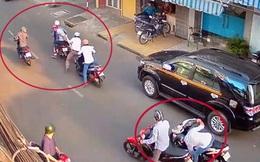 Chờ xe taxi, người phụ nữ bị cướp giật 1 tỷ đồng ở Sài Gòn