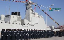 """TQ cho tàu khu trục tên lửa tập """"bắn chìm tàu địch"""" sát Triều Tiên khi mẫu hạm Mỹ sắp đến"""