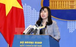 Bộ Ngoại giao thông tin vụ tàu cá Việt Nam bị Indonesia bắt giữ