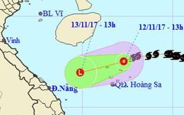 Bão số 13 suy yếu thành áp thấp nhiệt đới và tan trên biển