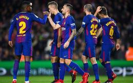 """Cất Messi trên ghế dự bị, Barcelona vẫn dễ dàng thắng """"5 sao"""""""