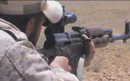Quân đội Syria vây diệt xạ thủ săn tăng IS trên chiến trường Mayadeen (video)