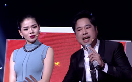 """Ngọc Sơn và Lệ Quyên thi nhau khoe giọng hát để """"giành"""" thí sinh"""