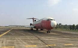 Máy bay bị bỏ rơi 10 năm ở sân bay Nội Bài chỉ có thể bán với giá... sắt vụn?