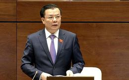 Bộ trưởng Tài chính Đinh Tiến Dũng trả lời chất vấn Quốc hội