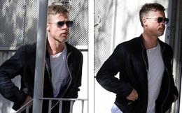 Không thể nhận ra Brad Pitt sau gần 7 tháng bị Angelina Jolie bỏ