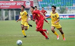"""Thầy trò HLV Hoàng Anh Tuấn nói điều """"bất thường"""" sau khi trút 8 bàn vào lưới Brunei"""