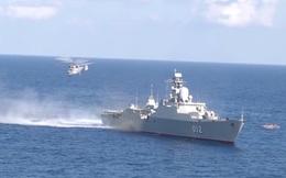 Hình ảnh đẹp mắt về hoạt động huấn luyện chiến đấu của Hải quân Việt Nam