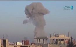 Clip: HQ Nga phóng tên lửa hành trình tấn công phiến quân ở Daraa